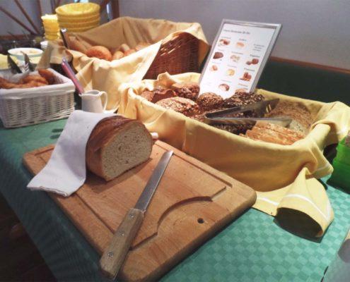 Frühstücksbuffet - Brotauswahl