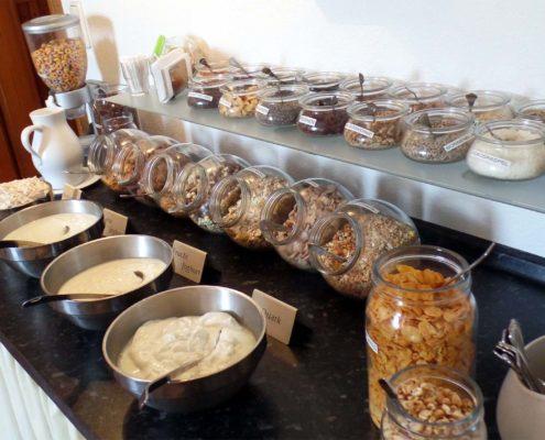 Frühstücksbuffet - Ceralienauswahl
