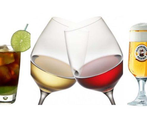 Digestif, Cocktail, Wein oder doch ein kühles Bier...