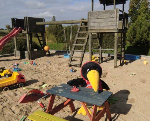 Kinderspielplatz - Sandkiste