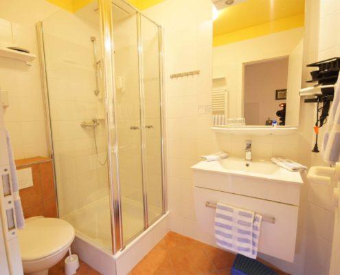 Hotel-Appartement Typ B - Badezimmer