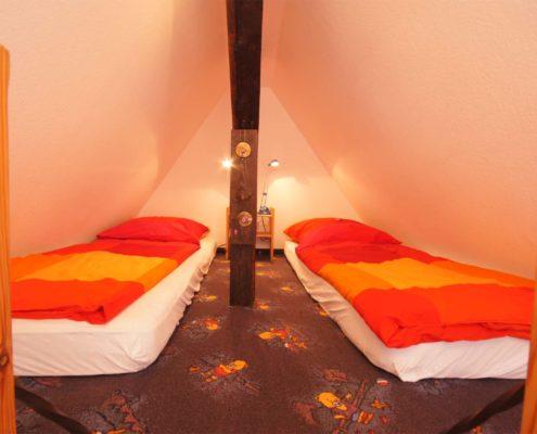 Hotel-Appartement Typ C - mit Spitzboden zum Spielen oder als zus. Schlafmögl. für 1-2 Kinder