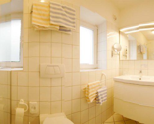 Hotel-Appartement Typ C - Badezimmer