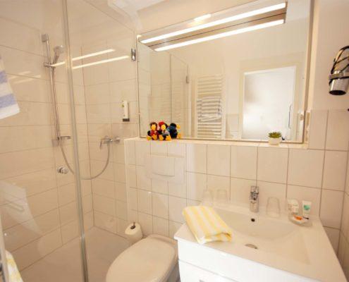 Hotel-Appartement Typ D - Badezimmer