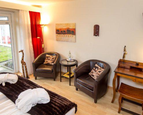 Doppelzimmer Typ Komfort - Afrikazimmer
