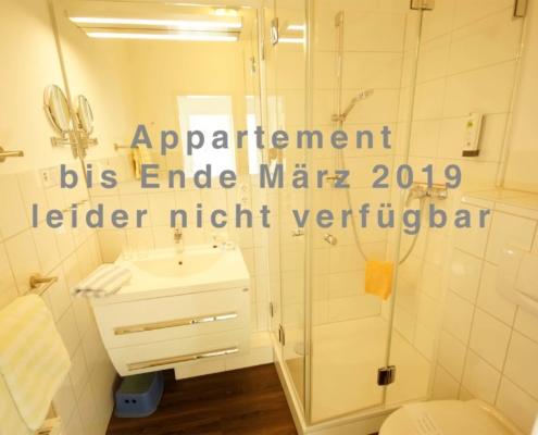 Hotel-Appartement Typ C - Bad