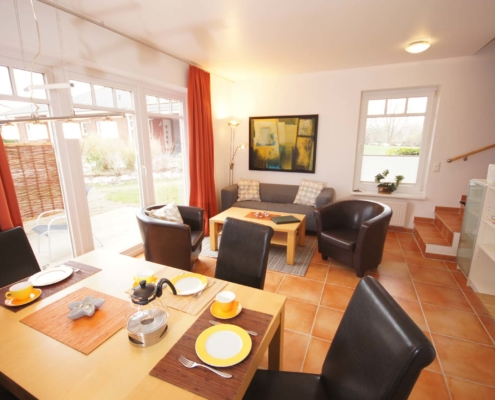 Ferienhaus III - Wohnzimmer