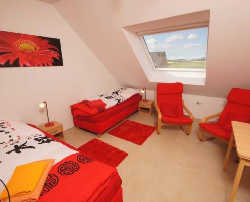 Ferienwohnung Feldblick - Schlafzimmer