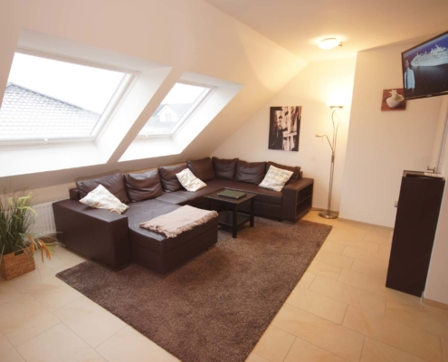 Ferienwohnung Feldblick - Wohnzimmer