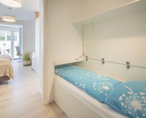 Doppelzimmer Typ Juniorsuite mit Gartenblick