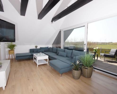 Ferienhaus I - Wohnzimmer
