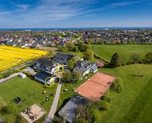 Lage JS Hof im Hofhotel Krähenberg Grömitz Ostsee